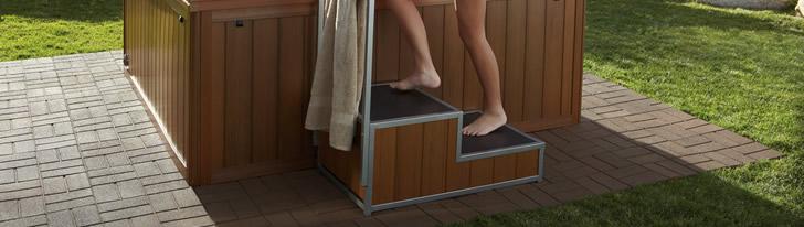 spa steps
